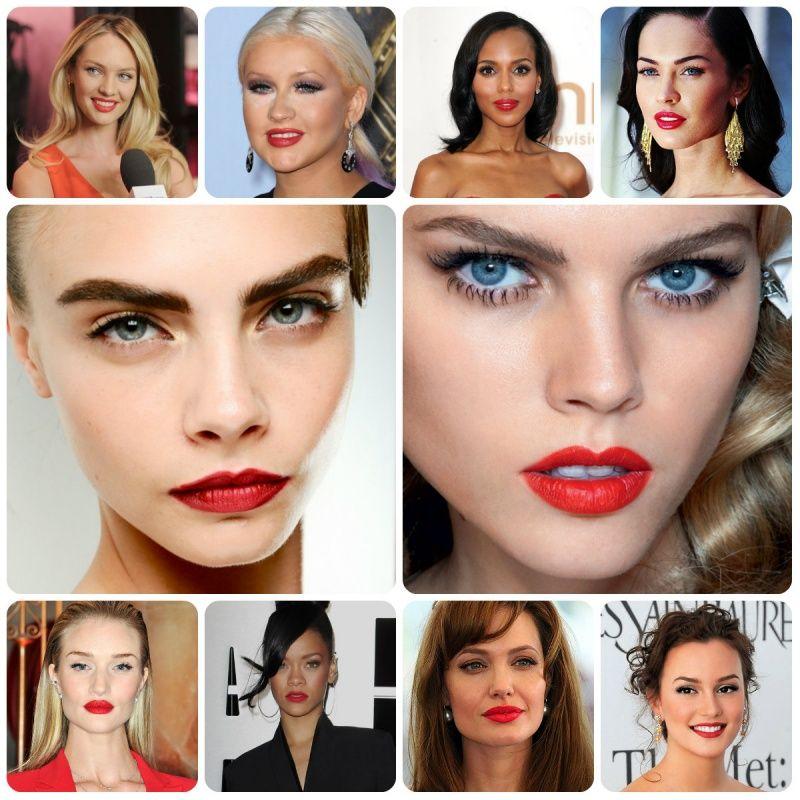 Как подобрать цвет помады по цветотипу внешности, по цвету кожи лица.
