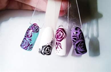 Не растекаются капли гель-лака art simple nail  что делать, если не получается дизайн по мокрому гель-лаку?