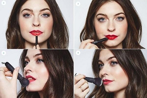 Как правильно и красиво красить губы помадой и карандашом